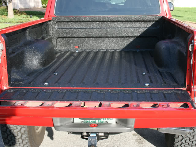 how to remove a bedliner