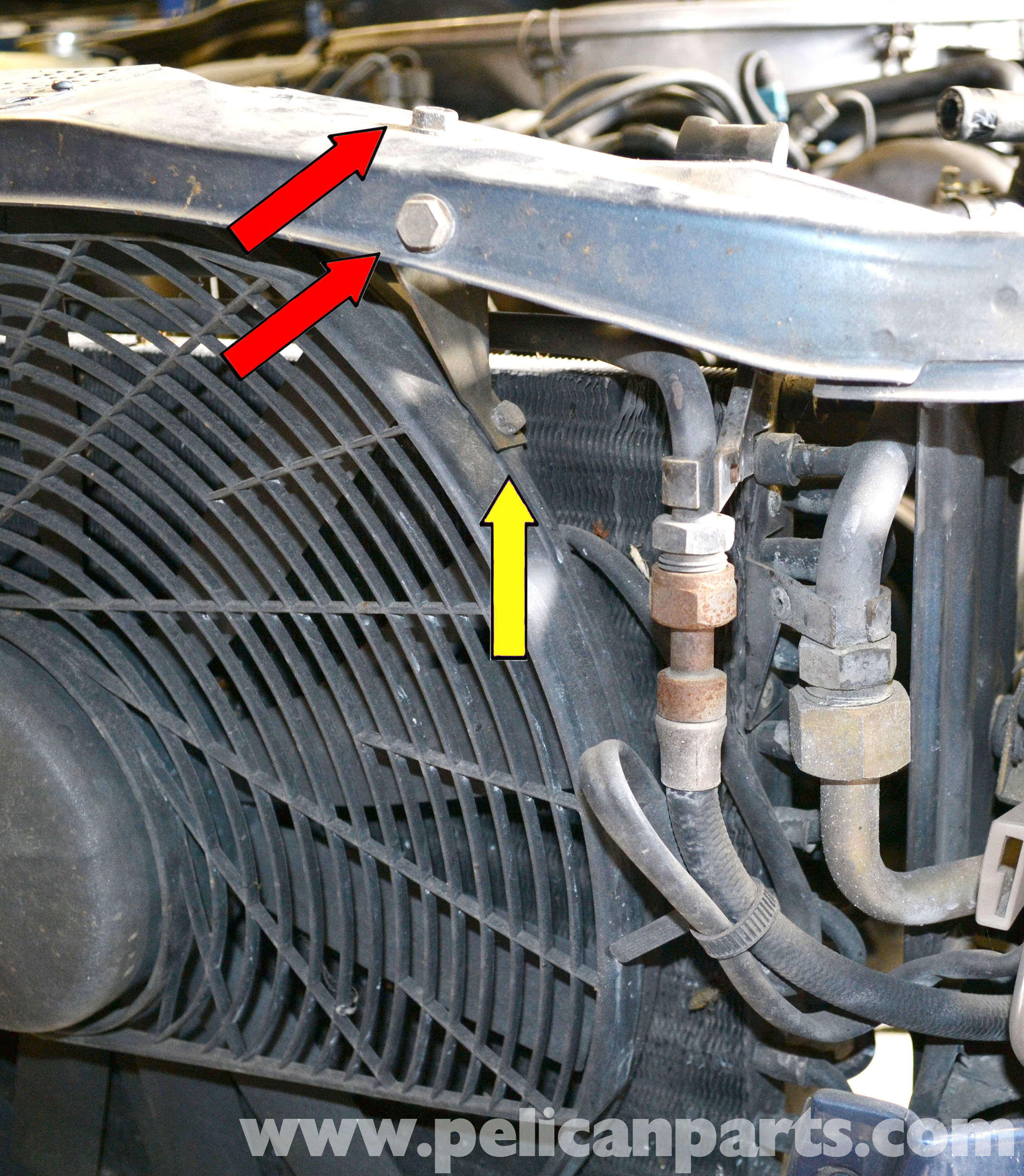 Mercedes-Benz S Class Replacing Your Mercedes-Benz Auxiliary Fan