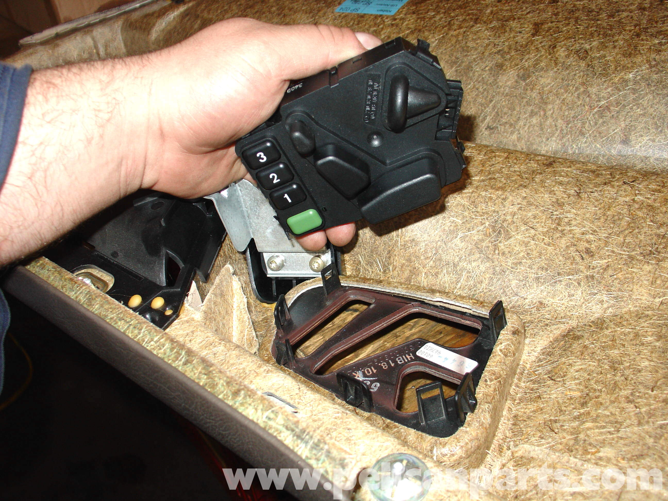seat adjustment switch repair and replacement