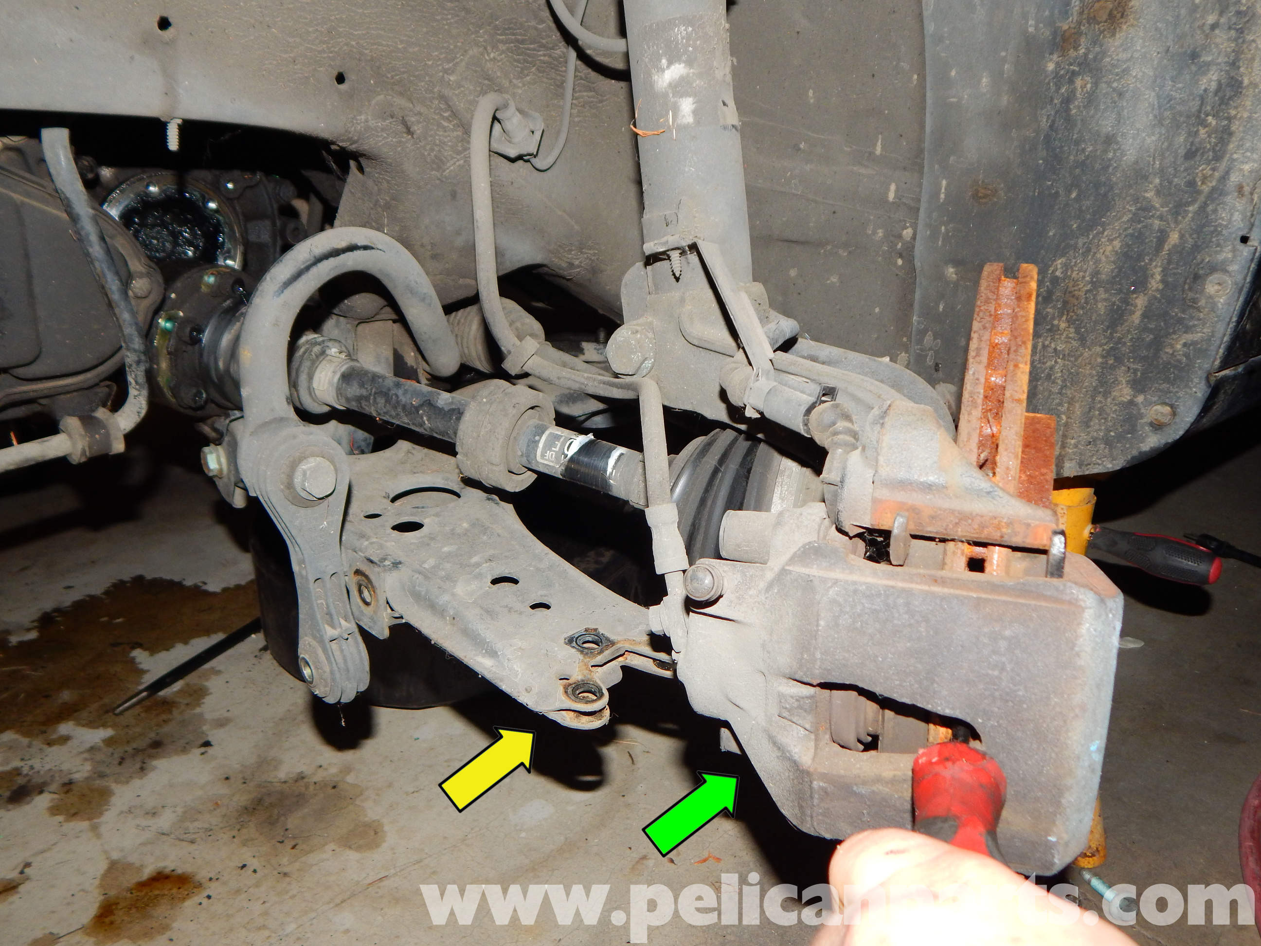 VW MK4 Axle Replacement